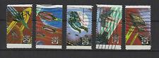 U.S.A États-Unis d'Amérique 1993 fantaisie spatiale 5 timbres oblitérés/T2296
