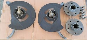 1961-1964 Lincoln Continental Front Disk Brake  SPINDLES, HUBS AND SHIELDS