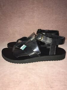 Teva Original Crafted Leather Sandal Uk Size 8 Excellent Condition