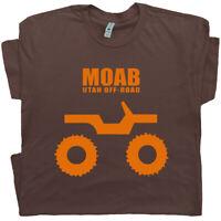 Moab Utah T Shirt Jeep T Shirt 4x4 Tee Off Road Rock Climbing Mud Bog  Men Women