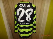 "FSV Mainz 05 Nike Langarm Spieler Trikot 2011/12 ""entega"" + Nr.28 Szalai Gr.L"