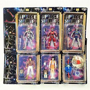Space Sheriff Action Figure Collection Banpresto Toei Complete Set Rare! 1999