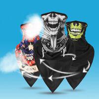 Neck Tube Scarf Shield Biker Cycling Face Mask Balaclava Bandana Fishing Skull