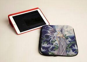 Amy Brown 'Night Blossom' Beautiful Faery Artwork Neoprene Tablet Sleeve iPad