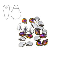 Preciosa pip ™ 7mm czech glass bead crystal volcano pack de 20 (M29/5)