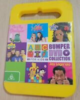 ABC For Kids Bumper DVD Collection DVD Region 4 PAL Wiggles Fairies Chrissy RARE