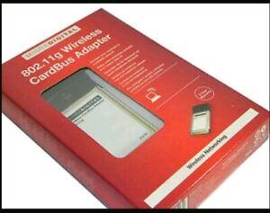 Belkin Micradigital F5D7010eaE Wireless G Notebook Adapter