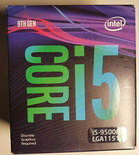 Neues Angebot*NEU* Intel I5-9500F 6-Core CPU 3.00GHz Boxed Prozessor - besser wie 9400F!