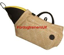 Jute Bite Sleeve for Young Dog Training | Puppy Bite Sleeve, Soft and Short Mode