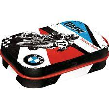 BMW Motorrader Motorcycle Bike Rider Motorsport Metal Tin Mint Box