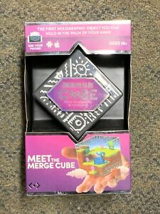 NEW Merge Cube AR/VR - Holographic Object You Can Hold - Augmented Reality