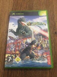 godzilla save the earth Microsoft XBOX 2004