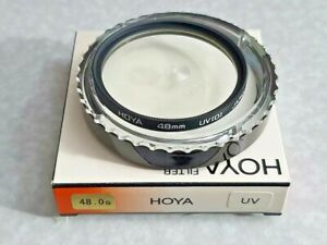 48mm Genuine OEM Hoya 48 mm UV Coated Glass Lens Protector Filter Japan Safety