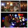 LED String Lights Solar Power Garden Path Yard Decor Lamp Outdoor Waterproof