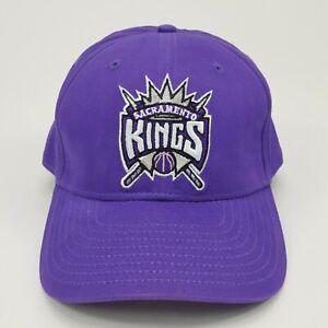 VTG Sacramento Kings New Era NBA Hat Strapback Cali Basketball Sports Cap NOS