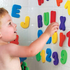 36pcs Children Education Alphabet Learning Toy Bath Tub Foam Letters Numbers Set