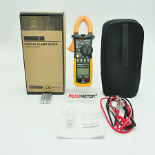 Digital Clamp Meter DC AC Volt AC Amp Ohm Tester MS2008A 2000 Counts LCD@L
