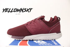 NEW BALANCE 247 SZ 11 BURGUNDY RED WHITE WINTER KNIT RUNNING SHOE MRL247WO