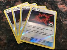 FOUR Pokemon 102/131 Beast Ring League Promo x4 NEW Rev Holo LEVEL UP YOUR GAME!