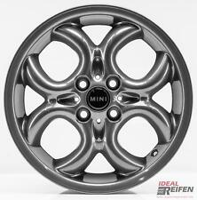 4 Original MINI Clubman R55 2006-10 16 Zoll Felgen 6791942 Circular Spoke TG