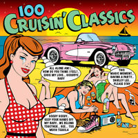 100 CRUISIN' CLASSICS - CHUCK BERRY GENE VINCENT BILL HALEY - 4 CDS - NEW!!