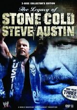 The Legacy Of Stone Cold Steve Austin (DVD, 2008, 3-Disc Set) - Region 4