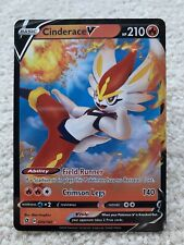 Cinderace V Holo Sword And Shield Rebel Clash Pokemon Card 035/192 NM