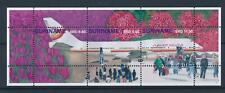 [SU2071] Suriname Surinam 2014 Airways Aviation Tulips Souvenir Sheet MNH