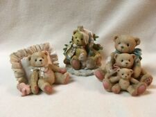 Lot of 3 Cherished Teddies Charlie Mandy Theadore