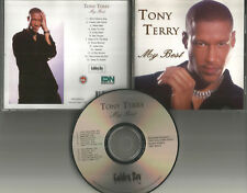 TONY TERRY My Best 13 TRX 2001 CD OUT OF PRINT New Jack Swing Singer USA Seller