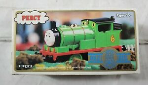 Ertl 1993 Thomas & Friends Railway Train Tank Engine Gold Rail PERCY New in Box!