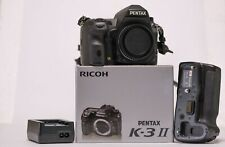 Pentax K3 MkII Camera with Charger, Battery, Battery Grip Mint Condition