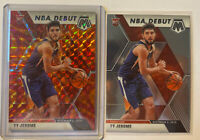 2019-20 Mosaic Ty Jerome RC NBA Debut ORANGE REACTIVE PRIZM & Base #273- Fresh