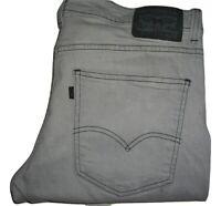 Mens LEVI'S 511 Line 8 Grey (0028) Slim Fit Stretch Denim Jeans W36 L32 - Marked
