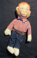 """Vintage Applause Howdy Doody 17"""" Doll w/ Cloth Face Vg+ 4.5 Three Cheers"""