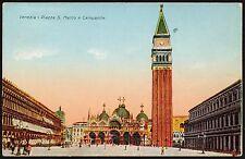 AX0197 Venezia - Città - Piazza San Marco e Campanile