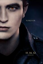 """TWILIGHT BREAKING DAWN PART 2 """"A"""" 11.5x17 PROMO MOVIE POSTER"""