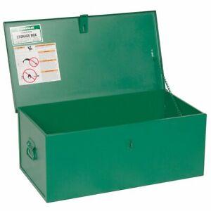 Greenlee 1230 30 x 12 x 16-Inch Heavy Duty Steel Locking Storage Welders Box