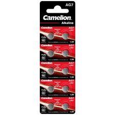 10x Knopfzelle Uhrenbatterie AG7-LR57-LR926-395 von Camelion