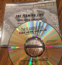 The Flaming Lips - This Here Giraffe 1995 Promo Cd Rare Find Dj