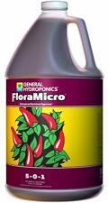 GENERAL HYDROPONICS FLORA MICRO 3.79L 1 GALLON FLORAMICRO HYDROPONIC NUTRIENT