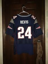 Mens Nike Size 48 Darrelle Revis New England Patriots Nfl Football Jersey ~ Sewn