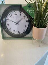 Garden Wall Clock Indoor / Outdoor