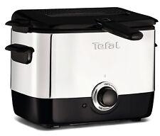 Tefal Ff220040 1L Electric Pro Mini Deep Fat Fryer Stainless Steel Black Silver