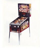 Cactus Canyon Original NOS Arcade Pinball Machine Promo Color Photo Bally 1999