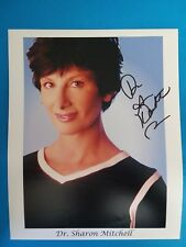 EARLY PORN STAR  SHARON MITCHELL SIGNED 8X10 PHOTO