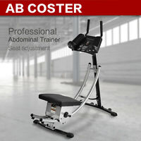 Ab Coaster Core Exercise Machine Abs Abdominal Crunch Fitness Muscle Workout