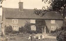 Unidentified House RP pc used 1909 Horringer Horningsheath Nr Bury St Edmunds