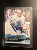 2016-17 UD Young Guns # 201 Austin Matthews Toronto Maple Leafs