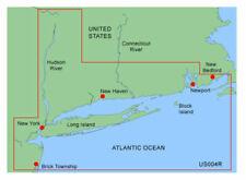 GARMIN BLUECHART NEW YORK MUS004R DATA CARD MARINE NAVIGATION CHART